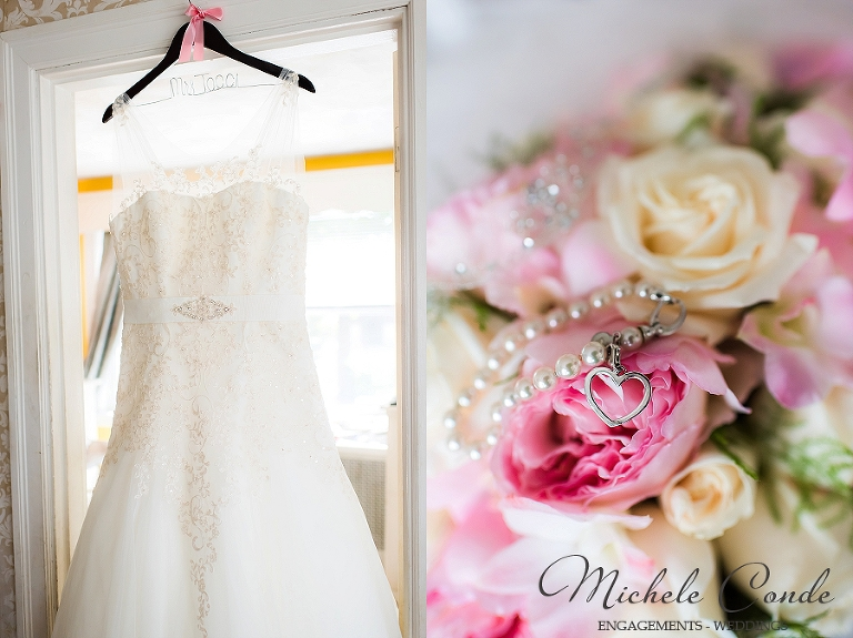 Nahant Country Club Wedding Photos Aqua Pink Massachusetts Michele Conde Photography 1