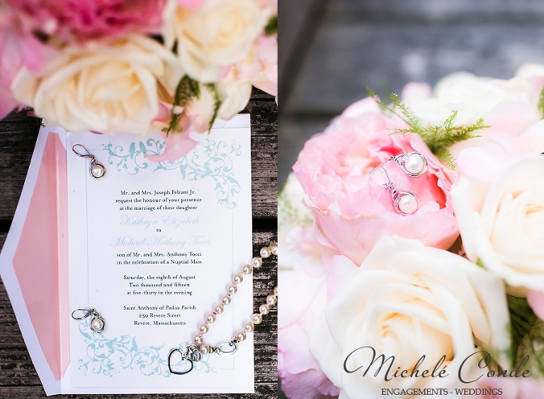 Nahant Country Club Wedding Photos Aqua Pink Massachusetts Michele Conde Photography 3