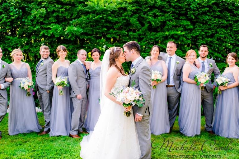 Harding Allen Estate Garden Wedding Barre, MA: Caitie