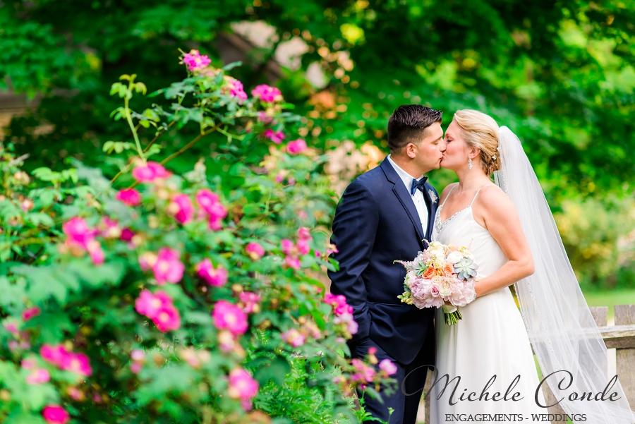 Orchard beach wedding