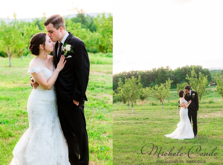 Orchard farms wedding