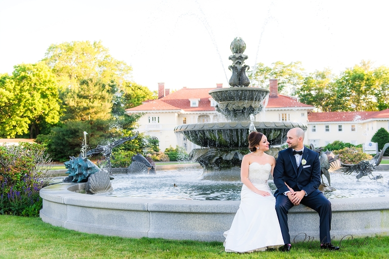 c07464ee270a Alena and Tom had a gorgeous day for their Tupper Manor wedding at the Wylie  Inn and Conference Center in Beverly