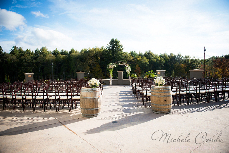 Labelle Winery Wedding Amherst Nh Michele Conde Photography